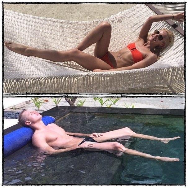 Голая Ольга Бузова в журналах и на интимных фото