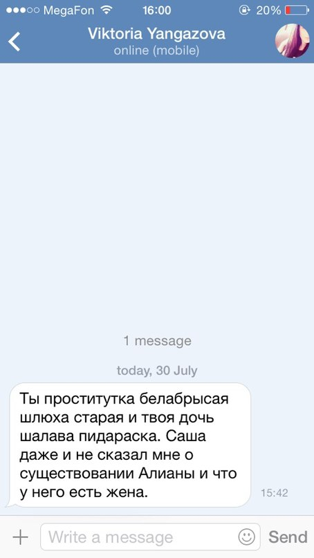 Обсуждение:Ни Алиане, ни Саше Гобозову