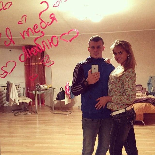 Ваня Барзиков с любимой