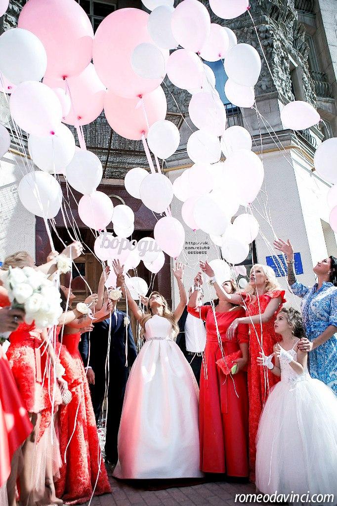 Первые фото со свадьбы Бородиной