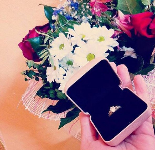 Коля Должанский подарил Руслане кольцо