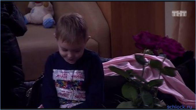 Ребенок в телевизоре