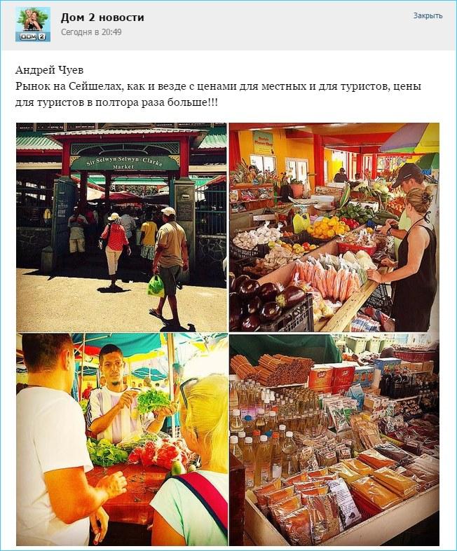 Рынок на Сейшелах