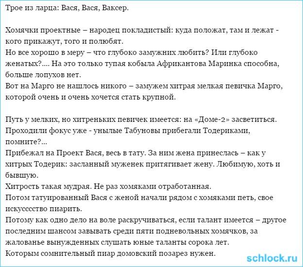 Трое из ларца: Вася, Вася, Ваксер