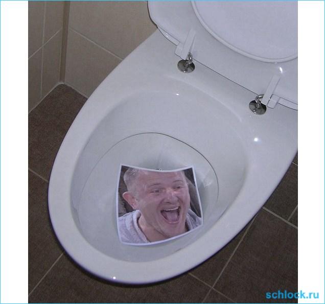 """О туалетном """"достоинстве"""" никчёмного Яббы"""