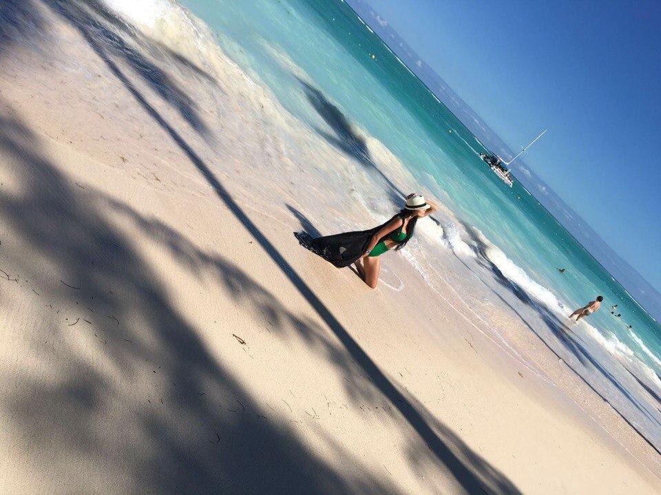 Виктория Романец на отдыхе в Доминикане!
