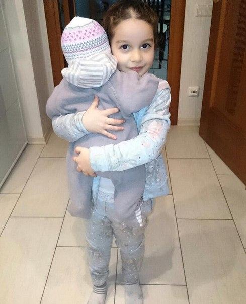 Бородина приучает к ответственности старшую дочь