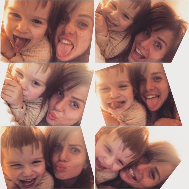 Александра Гозиас выложила фото с дочерью!