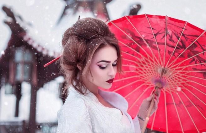 Японская фотосессия Алены Водонаевой