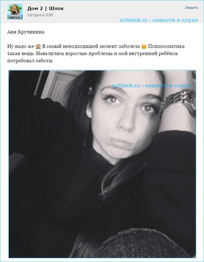 Аня Кручинина и взрослая жизнь