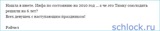 Настоящий возраст Тимура Гарафутдинова!