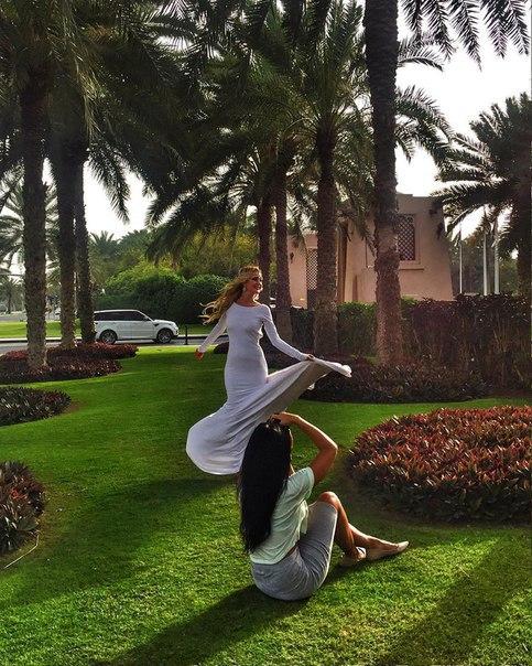 Фотосессия Марины Африкантовой в Дубае