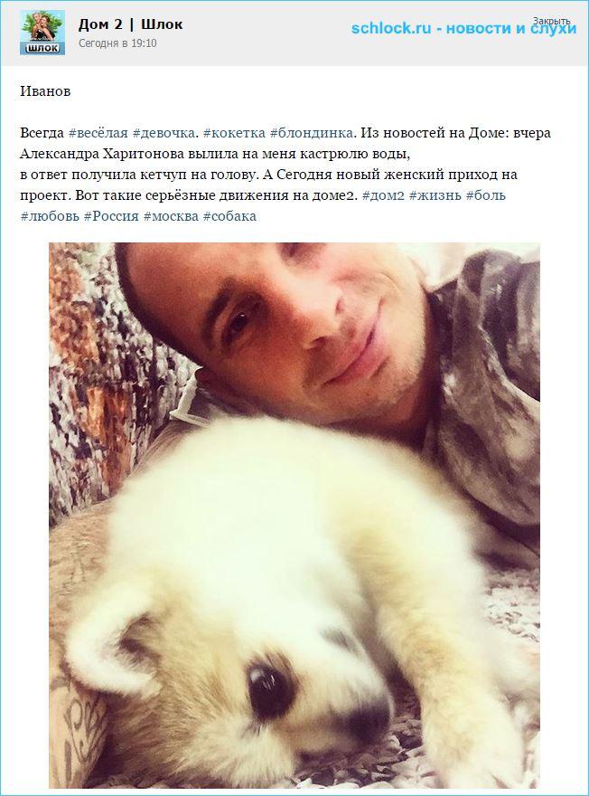 Харитонова вылила на Иванова кастрюлю воды