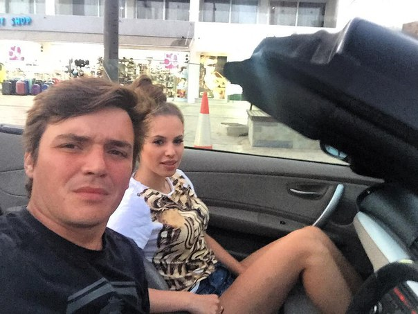 Саша Артемова и Женя Кузин на Кипре 01.06.16