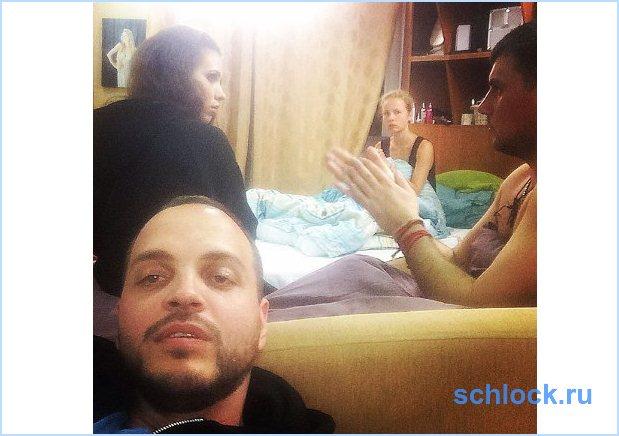 Пьяный Секирин провел ночь в женской спальне!