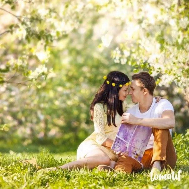 Нежная фотосессия Ермолаевой с мужем