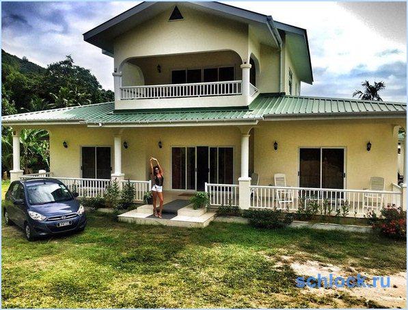 Жужа и ее новый дом на Сейшелах