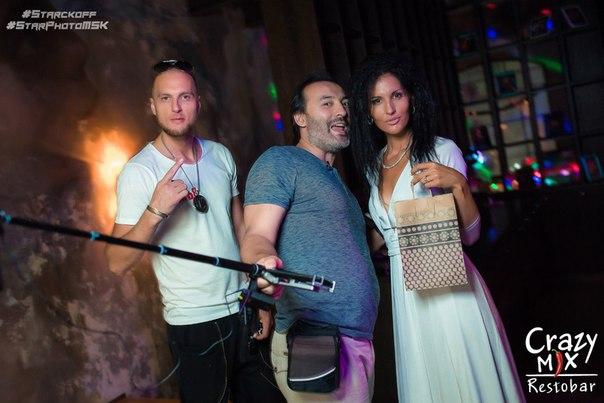 Участники дома 2 в Crazy Mix Club (12 августа)