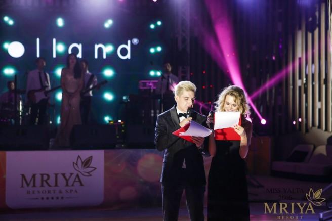 Никита Говорухин и Саша Скородумова - ведущие Мисс Ялта 2016