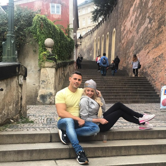 Супруги Пынзари в Праге (19 сентября)