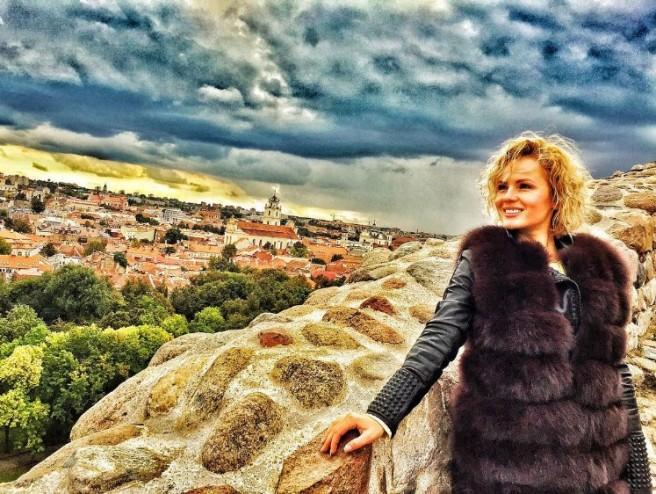 Александра Харитонова в Вильнюсе (26 сентября)