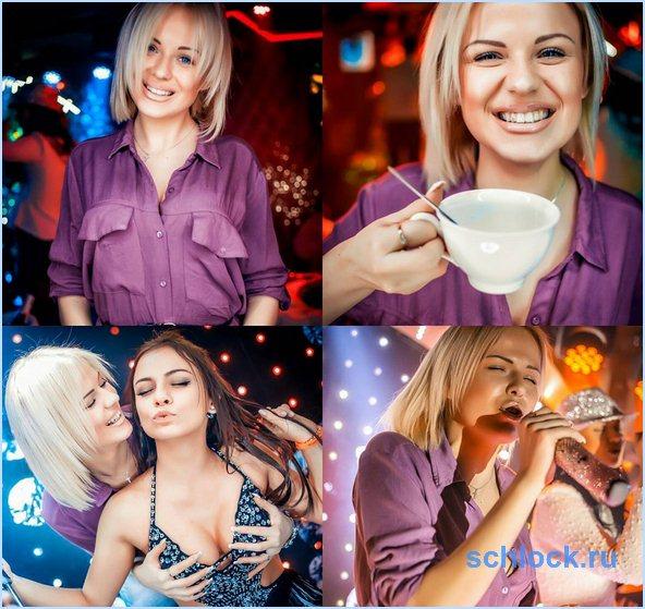 Александра Головач до проекта (5 октября)