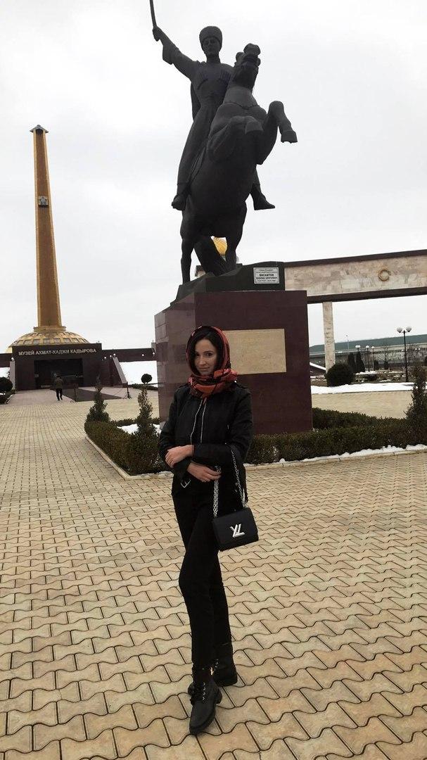 Ольга Бузова в Грозном (27 января)
