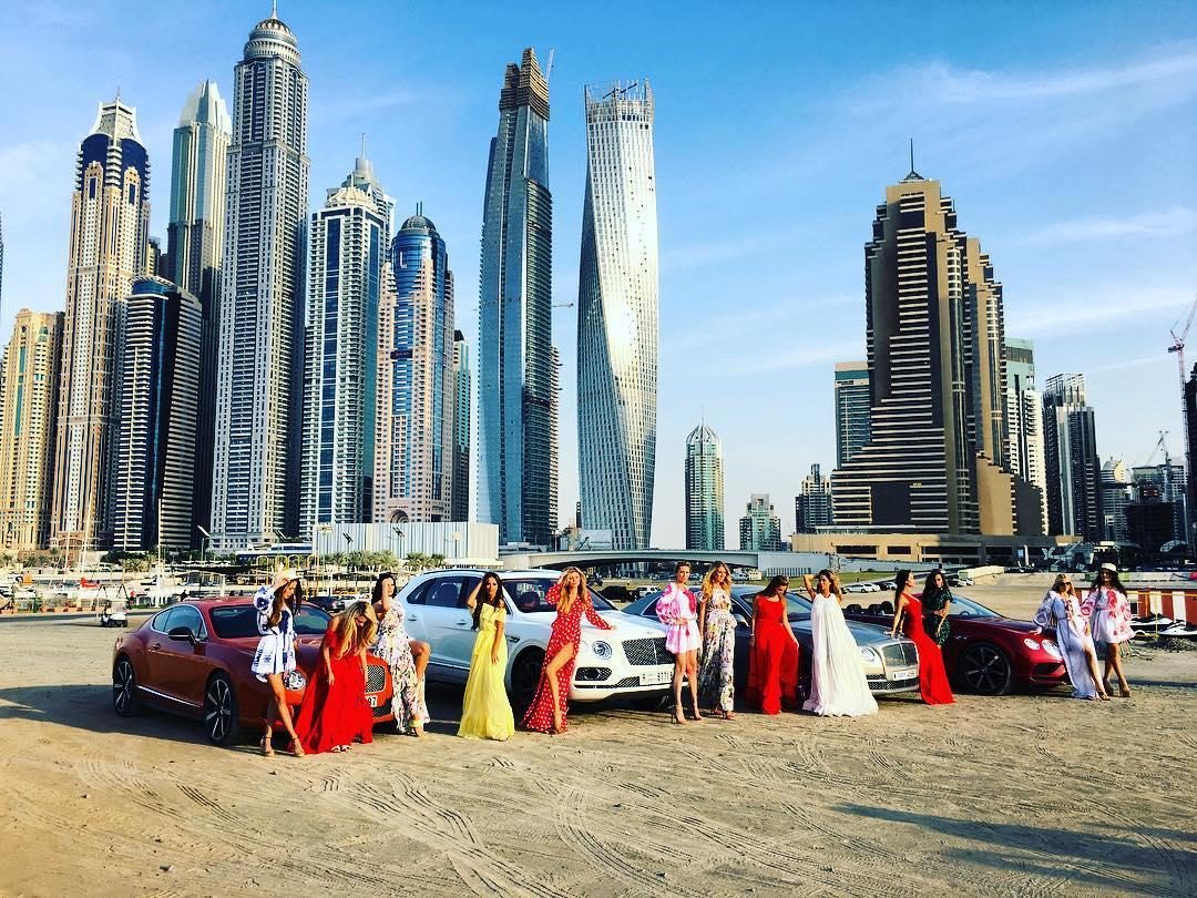 Виктория Романец в Дубае (20 января)