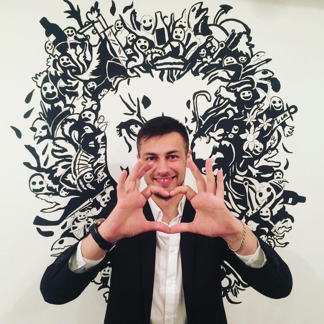 Илья Гринн до проекта (16 февраля)