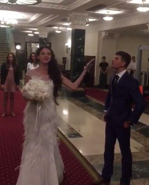 Свадьба Ольги Рапунцель и Дмитрия Дмитренко фото